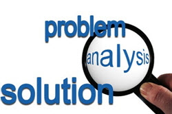 IS - IS NOT analysis works by making you deliberately think about the problem and in particular the boundaries of what it is or is not. It thus helps to create focus in attention and consequently is more likely to lead to the right problem being solved  an unclear boundary can lead to wandering off the path and solving unimportant problems.