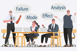 FMEA Analices is an acronym for Failure Mode and Effect Analysis, which is a structured analsyis of a plant or productive process regarding the potential for its components, steps and/or tasks of failing, the risk of this happening and its consequences. The FMEA analsysis is ...